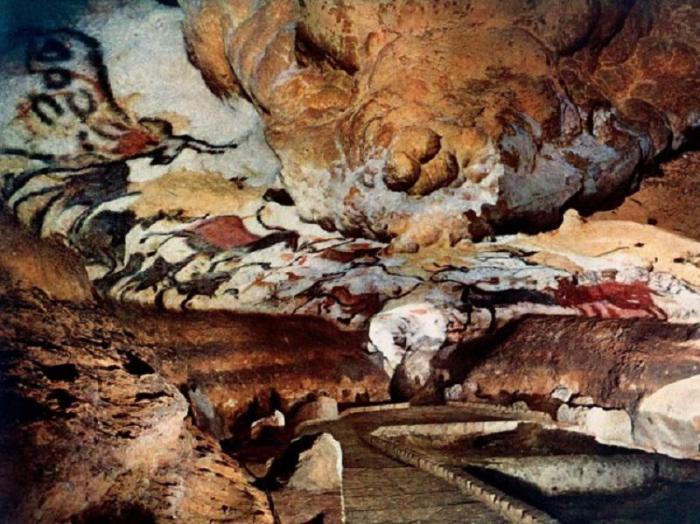Пещера Ласко, расположенная на юго-западе Франции. | Фото: fb.ru.