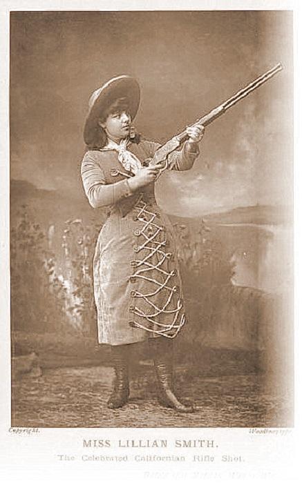 Лиллиан Смит - одна из самых метких стрелков конца XIX-начала XX вв.| Фото: alchetron.com.