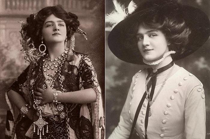 Лили Элси - самая фотографируемая девушка начала 20 века.