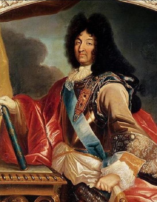 Людовик XIV. <br>Pierre Mignard, ок. 1695 г.   Фото:storyfiles.blogspot.com.