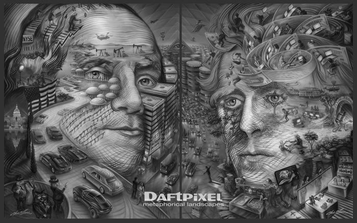 Творчество художника Chris Elliman.
