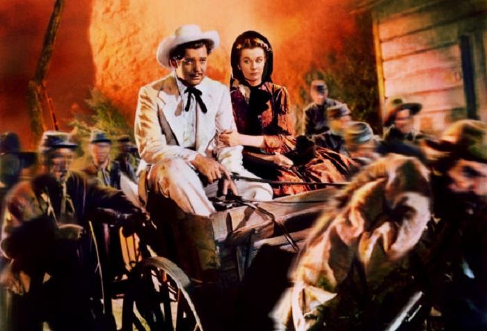 Сцена побега из Атланты. | Фото: biography.com.