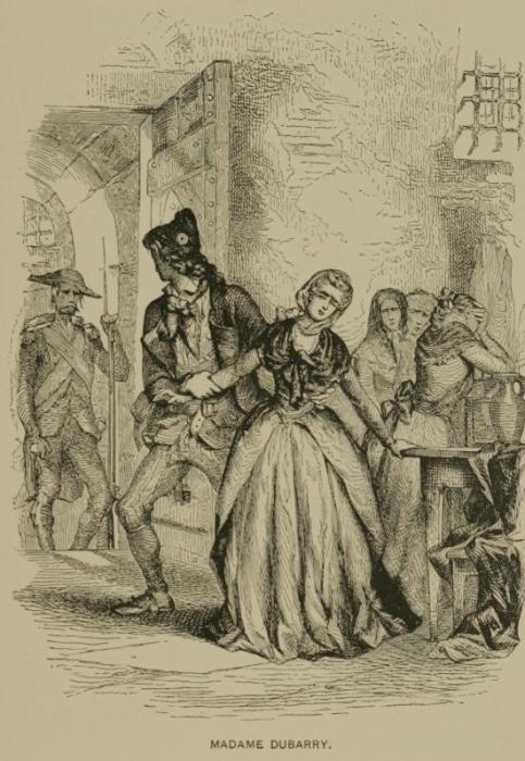 Мадам Дюбарри ведут на казнь. Tighe Hopkins, 1897 год. | Фото: ru.wikipedia.org.