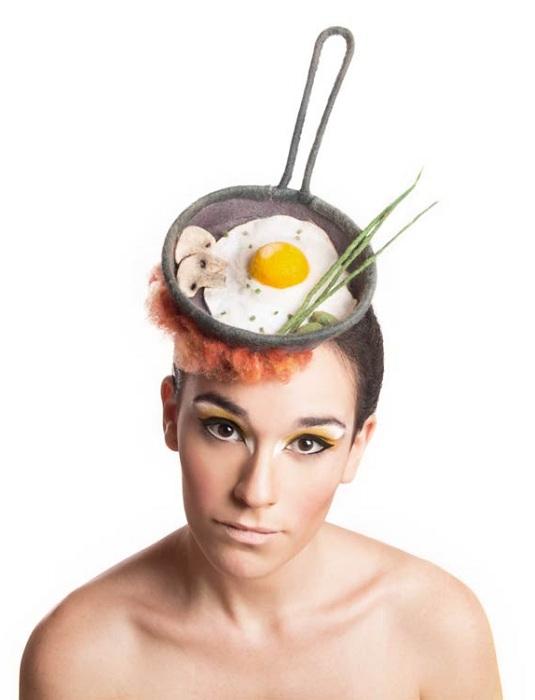 Шляпка в кулинарном стиле.