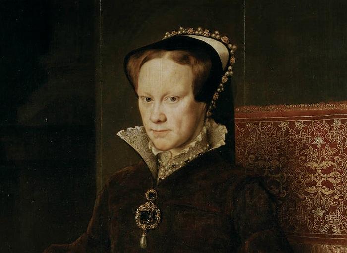 Королева Англии Мария I Тюдор. | Фото: isgeschiedenis.nl.
