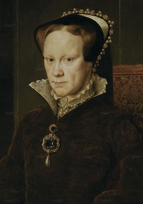 Королева Англии Мария I Тюдор.