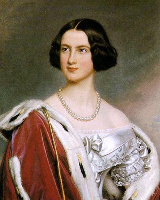 Мария Фридерика Прусская - прусская принцесса, в замужестве королева Баварии, 1843 год. | Фото: ru.wikipedia.org.