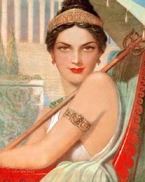 Мессалина - развратная жена римского императора Клавдия. | Фото: hotelcentraleroma.it.