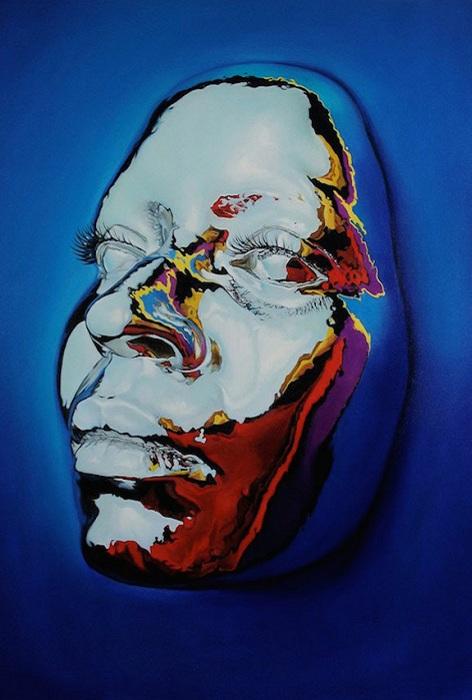 Творчество американского художника Kip Omolade.