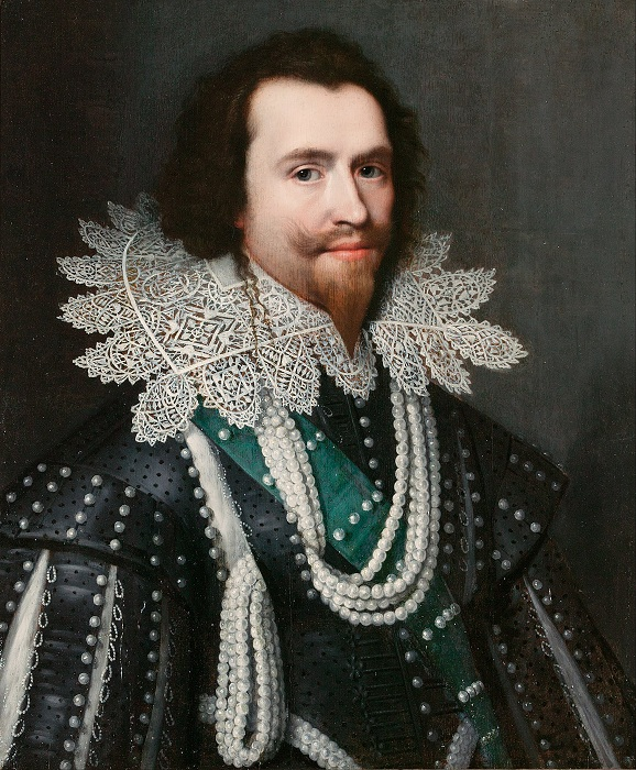 Портрет герцога Бекингема. Михиль ван Миревельт. | Фото: ru.wikipedia.org.
