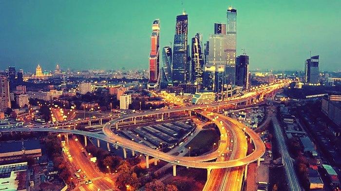 Современная Москва. | Фото: livetour.com.ua.