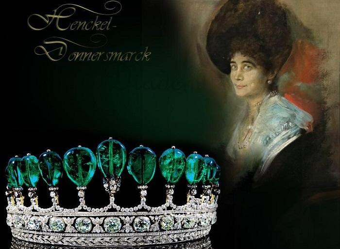 Принцесса Катарина Хенкель и ее тиара. | Фото: pinterest.com.