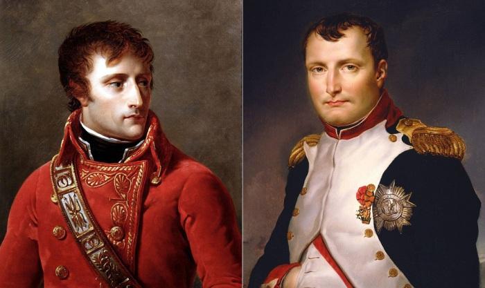 Портреты Наполеона Бонапарта.