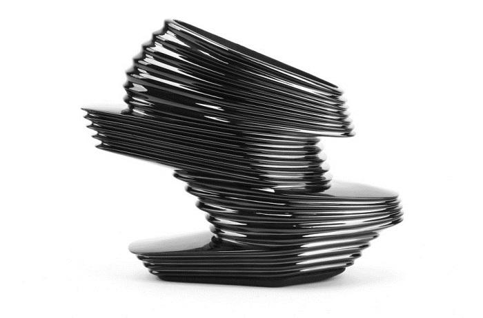 Футуристическая обувь от Zaha Hadid.