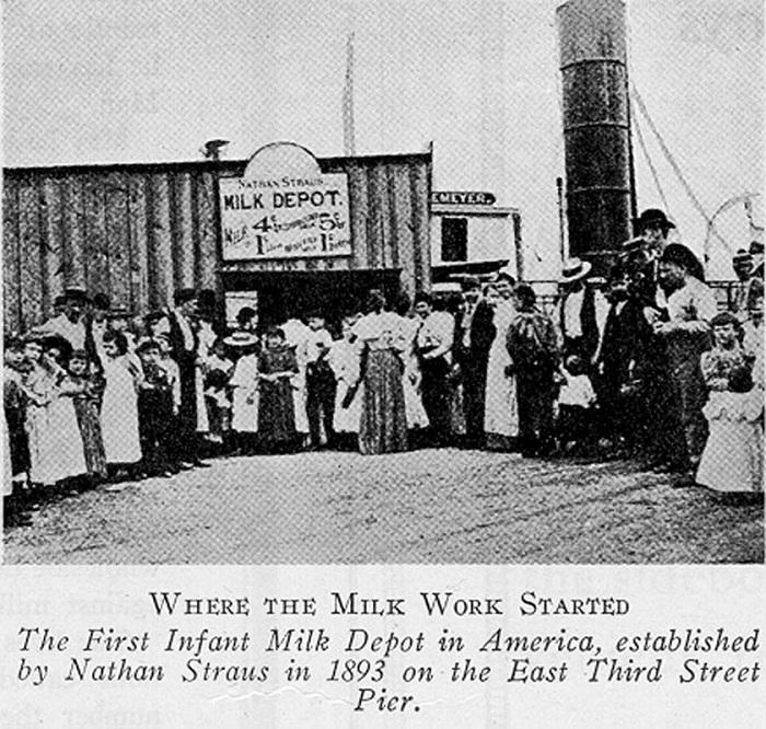 Первая в Америка станция пастеризации молока, 1893 год. | Фото: straushistoricalsociety.org.