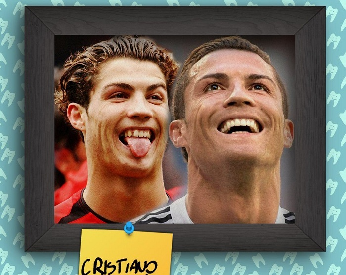 Успешный португальский футболист Cristiano Ronaldo.