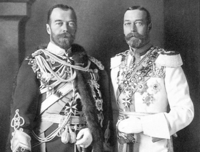 Николай II и Георг V. | Фото: s.mediasole.ru.
