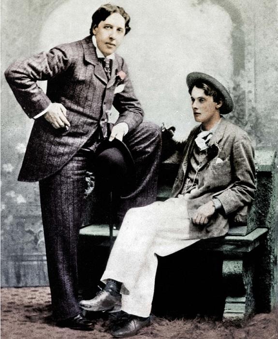 Оскар Уайльд с любовником Альфи Дугласом. | Фото: diletant.media.