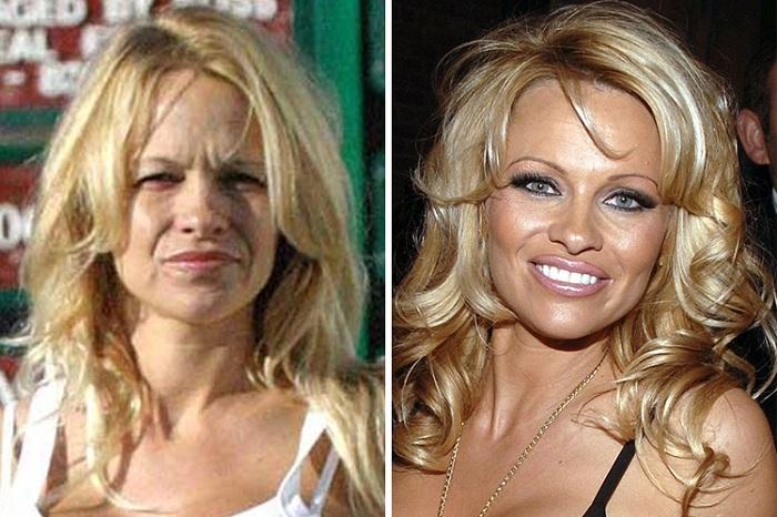 Памела Андерсон без макияжа - обычная женщина, каких много.
