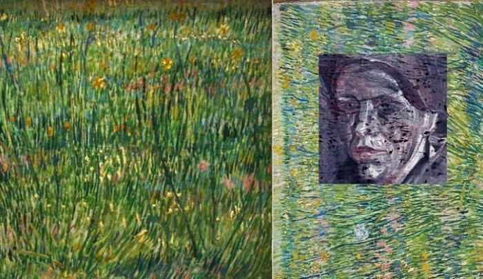 Лоскут травы. В. Ван Гог, 1887 год. | Фото: russian.rt.com.