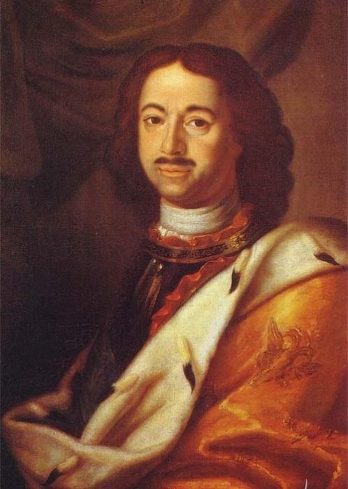 Петр I -российский император. | Фото: tamara.shemyak.com.