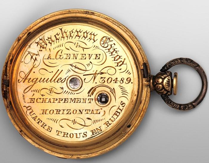 Карманные часы, 1832 год.| Фото: fiveminutehistory.com.