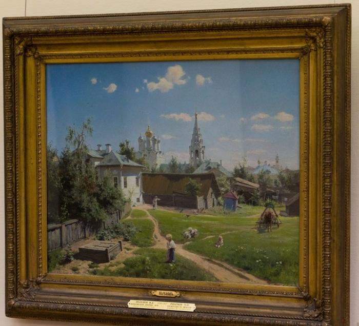 «Московский дворик»: Как картина, написанная впопыхах, стала любимой многими поколениями