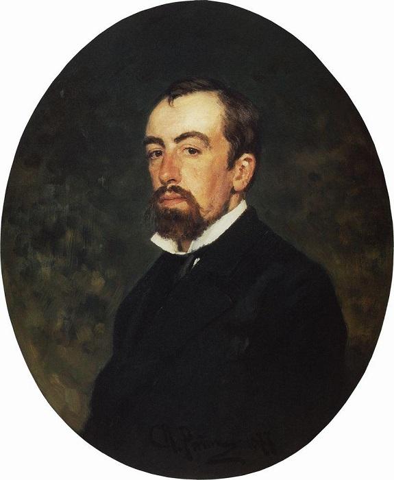 Портрет В. Д. Поленова. И. Е. Репин, 1877 год. | Фото: dic.academic.ru.