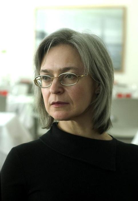 Российская журналистка и общественный деятель Анна Политковская. | Фото: max-pix.com.