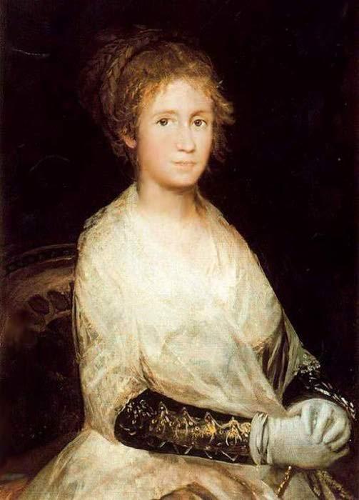 Хосефа Байеу - жена Франциско Гойи, 1800-08 гг. | Фото: liveinternet.ru.