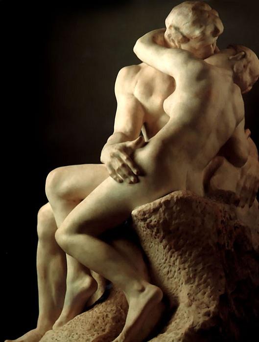 «Поцелуй». Огюст Роден, 1882 год. | Фото: asaartgallery.ru.