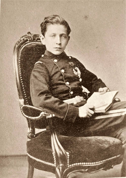 14-летний принц Эжен Наполеон, 1870 год. | Фото: en.wikipedia.org.