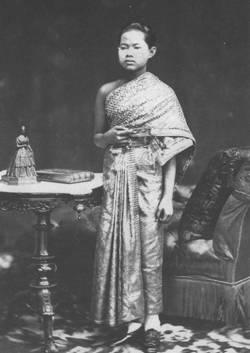 Сунанда Кумариратана - супруга короля Сиама. | Фото: ru.wikipedia.org.