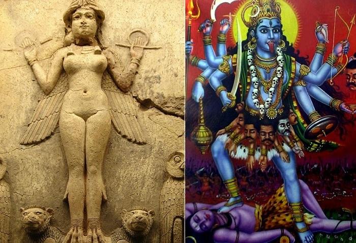 Не самые добрые добрые богини в древней мифологии.