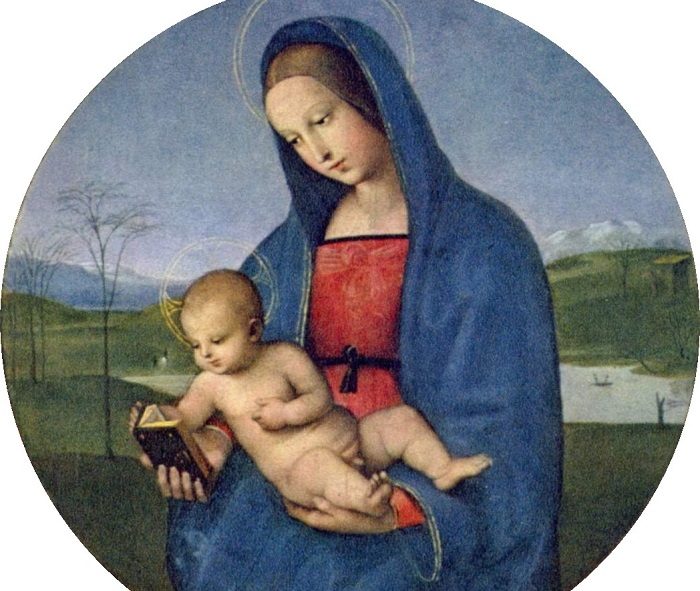 Мадонна Конестабиле. Рафаэль, ок. 1502-1504 гг. | Фото: ru.wikipedia.org.