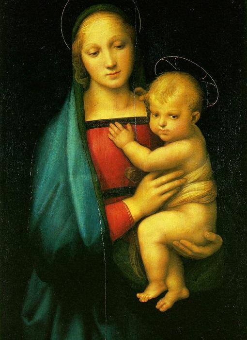 Мадонна Грандука. Рафаэль, 1505-1506 гг. | Фото: thegreatcoursesdaily.com.