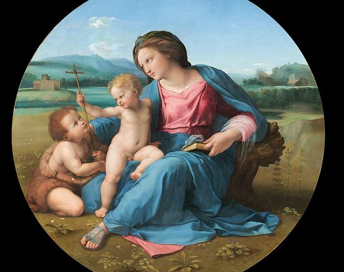Мадонна Альба. Рафаэль, 1511 год. | Фото: thegreatcoursesdaily.com.