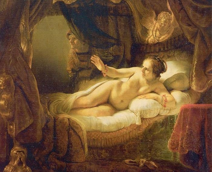 Даная. Рембрандт. 1636—1647. | Фото: ru7.anyfad.com.