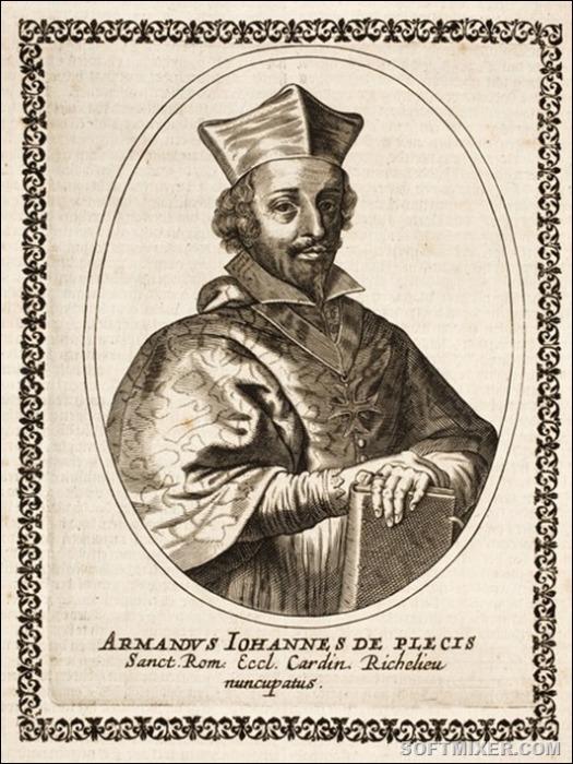Арман Жан дю Плесси, герцог де Ришелье. | Фото: storyfiles.blogspot.ru.