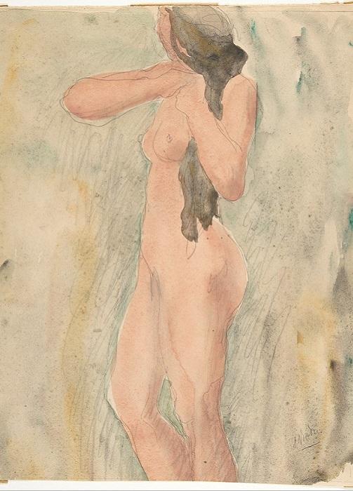 Эротический рисунок Огюста Родена. | Фото: tanjand.livejournal.com.