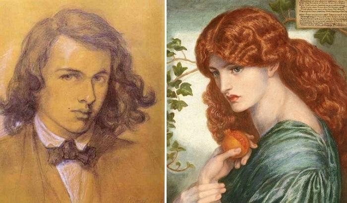 Данте Габриэль Россетти — английский живописец и поэт.