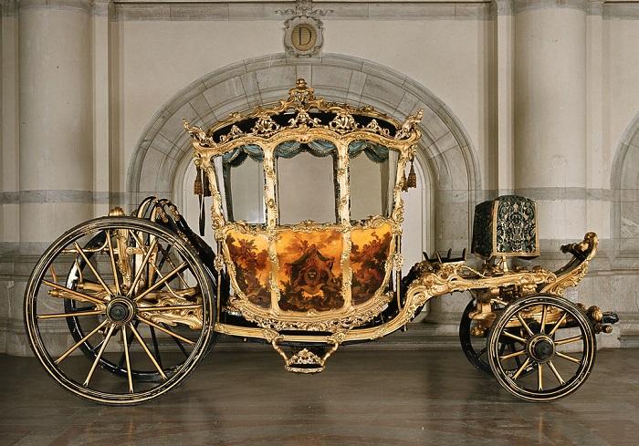 Карета шведского короля Густава III. | Фото: fiveminutehistory.com.