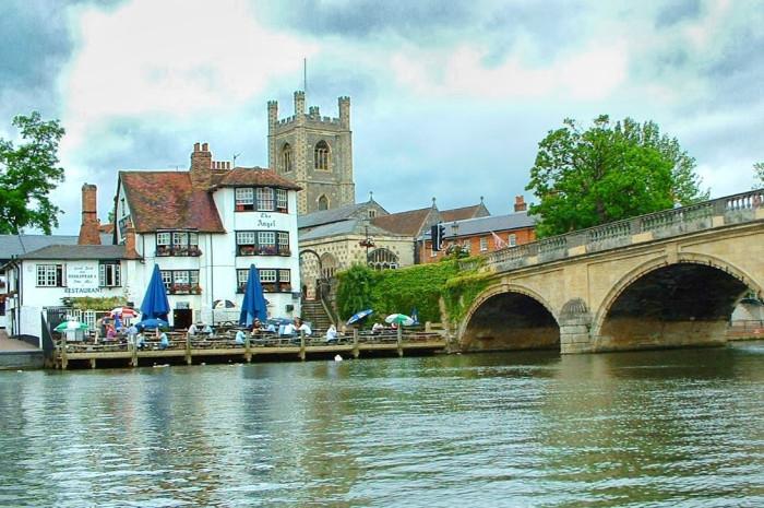 Хенли-на-Темзе, Оксфордшир, Англия. | Фото: fiveminutehistory.com.