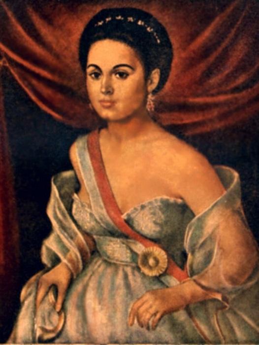 Мануэла Саэнс - латиноамериканская революционерка. | Фото: persons-info.com.