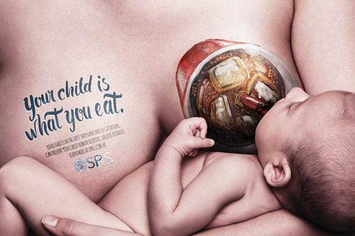 Социальная реклама о проблеме детского ожирения.