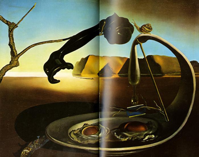 Иллюстрация из книги Les Diners de Gala.