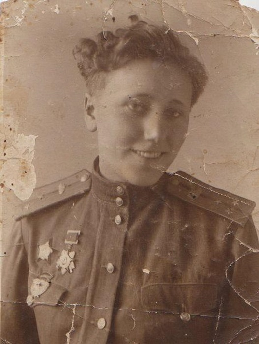 Александра Самусенко - единственная женщина-командир танкового батальона во времена Великой Отечественной войны. | Фото: qna.center.