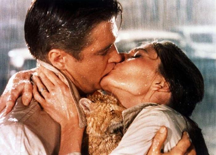 Самые волнующие кинопоцелуи.