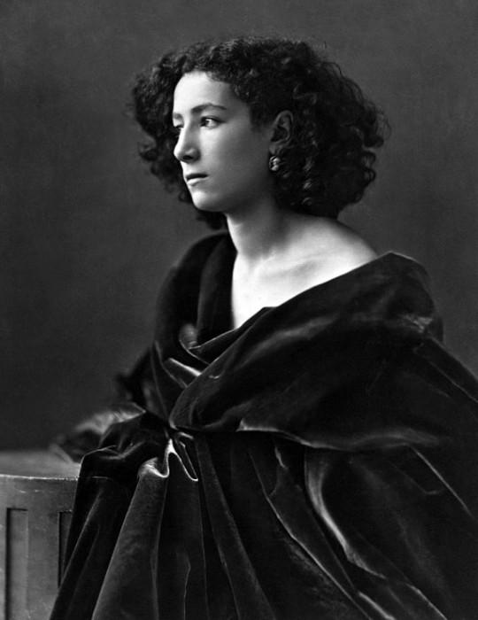 Сара Бернар - известная актриса конца XIX-начала ХХ века. | Фото: rebziki.ru.