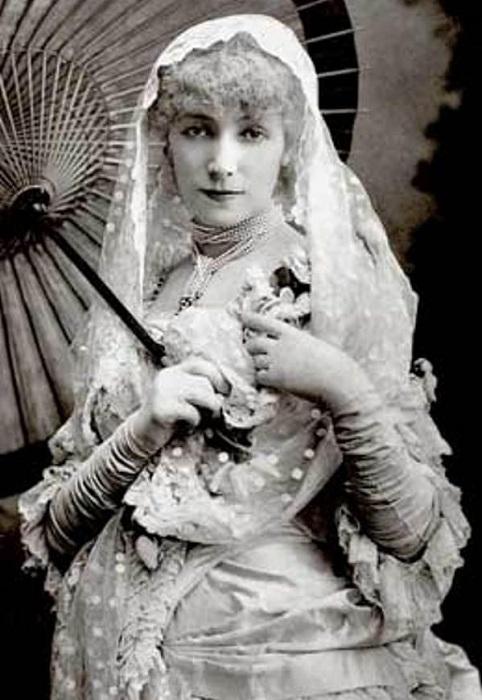 Дама с камелиями, 1881 год. | Фото: liveinternet.ru.